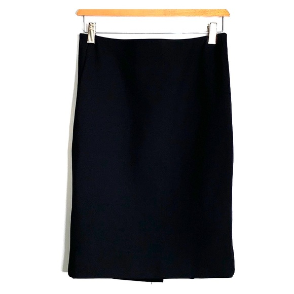 Etcetera Dresses & Skirts - ETCETERA • Classic Pencil Gold Zipper Black Skirt